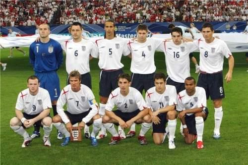 сборная Англии 2006