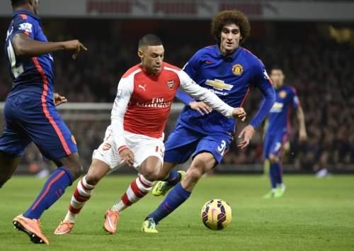 «Манчестер Юнайтед» выиграл у «Арсенала» впремьер-лиге