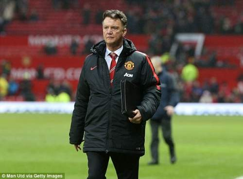 Tough taskmaster Louis van Gaal still wants to see improvement from the former champions